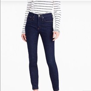 """J. Crew 9"""" Toothpick Jeans"""